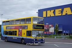 Dublin Bus AV338 (03D50338). (Fred Dean Jnr) Tags: dublin august2010 busathacliath dublinbus dublinbusyellowbluelivery htown volvo b7tl alexander alx400 ikea ballymun av338 03d50338