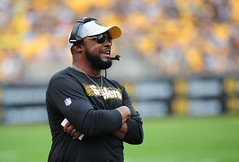 Tomlin (Brook-Ward) Tags: brook ward mike tomlin pittsburgh pitt burgh pgh 412 steelers head coach heinz field nfl national football leauge