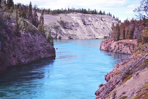 miles canyon [yukon river overview]