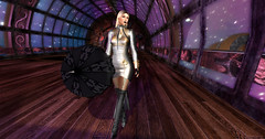 A for Airship, for flying is keen. (pulpfictionstudio) Tags: secondlife dance airship flygearz orbit calas brii steampunk lumipro 2018