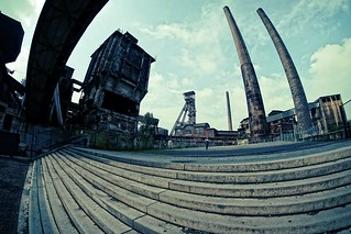 Ostrava - Vítkovice - Samyang 8mm f2,8 UMC FISH EYE II