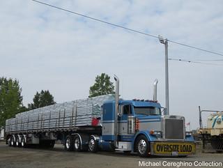 Rusty Bradeen Trucking Peterbilt 379, Truck# 49