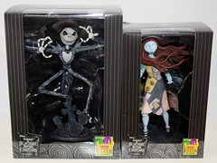 Grand Jester Studios Jack and Sally Vinyl Figures - Nightmare Before Christmas 25th Anniversary - Disneyland Purchase - Boxed - Side by Side - Front View (drj1828) Tags: jackskellington nightmarebeforechristmas 25th anniversary sally vinyl figurine disneyland purchase grandjesterstudios boxed