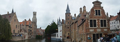 Bruges panoramic (lcfcian1) Tags: bruges brugge belgium city panoramic centre canal riverside belfry bell tower medieval belfryofbruges panorama pano