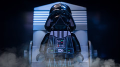 Darth Vader transformation (black.zack00) Tags: lego starwars darthvader darkvador fun minifig minifigure toy toys photography afol war