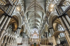 Sanctuary (Aaron Pack (100,000+ views Thank You x)) Tags: lincoln cathedral architecture nikond7000 tokina 1120 mm