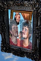 Portrait in the mirror - Retrato en el espejo - Ritratto allo specchio (COLINA PACO) Tags: portrait retrato ritratto espejos espejo franciscocolina fotomanipulación fotomontaje photoshop photomanipulation chico boy ragazzo