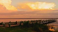021 Hover Flickr Friday (baypeep) Tags: sunrise sea dock storm