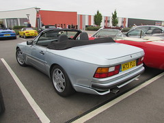 Porsche 944 S2 Cabriolet H73FLE (Andrew 2.8i) Tags: haynes motor museum breakfast meet sparkford yeovil somerset show classic classics cars car autos german sports sportscar convertible cabriolet s2 944s2 944 porsche