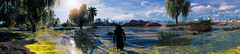 """Exploring the colorful water."" (Xenolith3D) Tags: assassinscreedorigins game screenshot photomode virtualphotography portrait panorama bayek medjay 4k societyofvirtualphotographers egypt hd pc gamephotography"