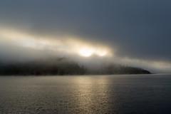 Humboldt Lagoons State Park (Randy Gardner 88) Tags: humboldt humboldtcounty humboldtcountycalifornia humboldtlagoonsstatepark lagoon sunset park statepark california water bay fog dusk
