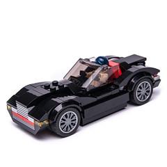 75881 Cabrio alternate (KEEP_ON_BRICKING) Tags: lego ford speed champions set 75881 alternate alternative build model moc car vehicle black cabrio keeponbricking 2018