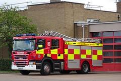Kempston - 80 - KX66 CCF (999 Response) Tags: bedfordshire fire and rescue service kempston 80 kx66ccf
