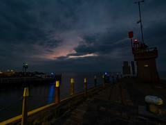 Havenhoofd Oudeschild, 6:45h (Jan R. Ubels) Tags: sunrise zonsopkomst morning morgen ochtend oudeschild texel haven