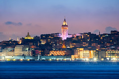 _DSC2189 - The Galata Tower skyline of Istanbul (AlexDROP) Tags: 2018 turkey europe istanbul art travel architecture color city skyline landscape longexposure cityscape urban nikond750 afsnikkor28300mmf3556gedvr best iconic famous mustsee picturesque postcard ngc hdr