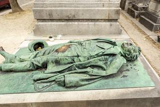 Victor Noir, Père Lachaise Cemetery, Paris France