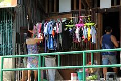 wardrobe or laundry - Canals, Bangkok, Thailand 2018 (Dis da fi we) Tags: wardrobe laundry canals bangkok thailand