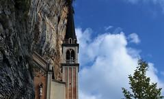 Santuario della Madonna della Corona. (ornella sartore) Tags: cielo roccia natura santuario allaperto colori particolari