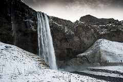 Islande, Skógafoss, 51 (Patrick.Raymond (4M views)) Tags: islande hiver gel froid neige hdr cascade waterfall