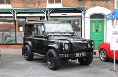 Land Rover Defender (99 YTX) (Ray's Photo Collection) Tags: landrover defender faversham stonestreet 99ytx kent england uk car cars show vehicles