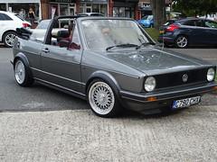 1985 Volkswagen Golf Cabrio GL Auto (Neil's classics) Tags: vehicle 1985 volkswagen golf vw
