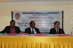 IMG_1447 (D Hari Babu Digital Marketing Trainer) Tags: national seminar digital marketing iimc hyderabad