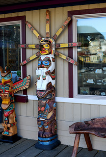 Totems & Bench