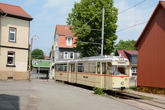 TWSB Gotha G4-67 #215 Sundhausen (klok.richard) Tags: tram gotha twsb waldbahn strassenbahn g4 gothawagen sundhausen 215