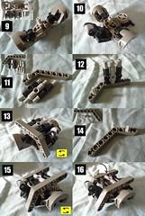 2 (Vahki6) Tags: lego bionicle rahi moc instructions crystal climber