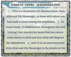 Browse, Read, Listen, Download and Share #Surah At-Tawba [9] @ https://quranindex.info/surah/at-tawba #Quran #Islam (Quranindex.info) Tags: islam quran reciters surahs topics verses