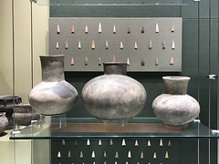"""native american points and pottery (""""One who sits by the fire"""") Tags: pottery points nativeamerican archaeology anthropology park america discoveryparkofamerica unioncity tennessee"""