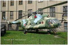 0614 Mil Mi-8 preserved Warsaw (SPRedSteve) Tags: 0614 mil mi8 helicopter polish army museum preserved relic warsaw poland