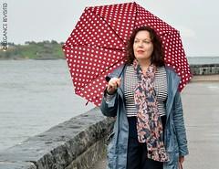 rainy day (Elegance Revisited) Tags: rainwear stripes patternmixing autumn 40blogger