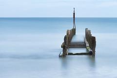 Happisburgh Calm. (StuMcP) Tags: happisburgh beach coast sea northsea seaside 700d stuartmcpherson nd ndfilter norfolkcoast erosion wood defences