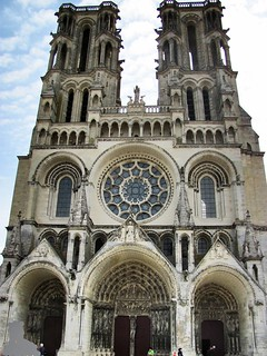 Catedral gótica de Laon. Francia.