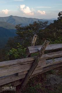 Old Fence, Blue Ridge Mountains, Asheville, NC  (70007)