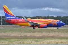 N955WN (LAXSPOTTER97) Tags: n955wn southwest airlines boeing 737 737700 arizona one paint scheme livery cn 36671 ln 3603 aviation airport airplane kpdx