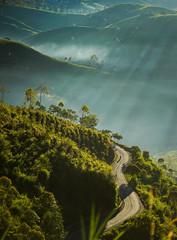 Curvy road (bady_qb) Tags: sunrise a7ii sony sonyalpha explore bandung indonesia landscape morning sky road travel 85mm