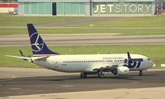 LOT Polish Airlines, SP-LWD, MSN 32802, Boeing 737-89P (WL),09.08.2018, WAW-EPWA (henryk.konrad) Tags: lot polishairlines splwd msn32802 boeing 73789p wawepwa warszawa henrykkonrad