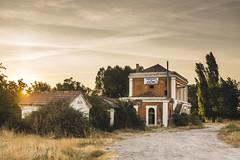 _DSC6578 (rubengalvezfoto) Tags: urbex abandoned train station landscape sunset yanguas eresma via verde segovia spain