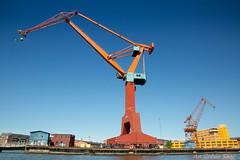 Industrial (An Gobán Saor) Tags: industrial crane port gothenburg göteborg sweden angobánsaor gobánsaor