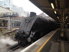 60009 London Victoria to Weymouth 1Y50 (train_photos) Tags: 60009 steamengine londonvictoria a4 unionofsouthafrica