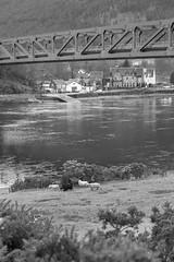 Ballachulish Bridge (itmpa) Tags: ballachulishbridge ballachulish bridge 1975 1970s northballachulish scotland clevelandbridgeengineeringcompany wafairhurstandpartners monochrome desaturated archhist itmpa tomparnell canon 6d canon6d