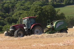 Case IH Puma 200 Tractor with a McHale F5600 Round Baler (Shane Casey CK25) Tags: case ih puma 200 tractor mchale f5600 round baler cnh casenewholland kinsale traktor traktori tracteur trekker trator ciągnik grain harvest grain2018 grain18 harvest2018 harvest18 corn2018 corn crop tillage crops cereal cereals golden straw dust chaff county cork ireland irish farm farmer farming agri agriculture contractor field ground soil earth work working horse power horsepower hp pull pulling cut cutting knife blade blades machine machinery collect collecting nikon d7200