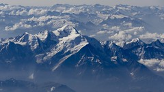 Mont Blanc French Alps France panoramic view summer 2018 (roli_b) Tags: mont blanc montblanc french alps europe france panoramic view vista panorama snow topped mountains berge montañas landscape travel viajar nature landschaft 2018 summer