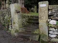 Proceed where many have gone before. Jan 2018 (SimonHX100v) Tags: church youlgreave youlgrave derbyshire allsaintschurch history bakewell steps churchyard gradeilistedbuilding historicengland grade1listed unitedkingdom uk england english greatbritain gb britain british eastmidlands historic simonhx100v sonyhx100v sonyflickraward