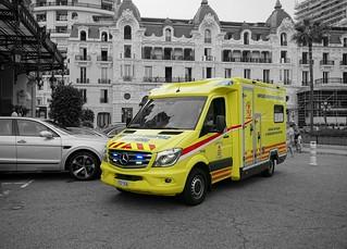 Sapeurs-Pompiers de Monaco VSAV1 Mercedes-Benz