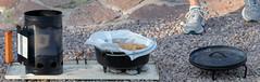 Dutch Oven Demonstration (runarut) Tags: dutchoven fortdavis davismountainsstatepark texas