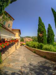 San Francesco Panorama (MikeAncient) Tags: italia italy hdr handheldhdr tonemap tonemapped fiesole tuscany toscana landscape landscapephotography maisema maisemakuva maisemakuvaus geotagged