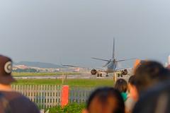 松山機場 (kailiang191) Tags: xt2 fujifilm canon70200f4 松山機場 夕陽